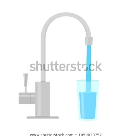 水 パイプ 清浄水 ベクトル ストックフォト © MaryValery