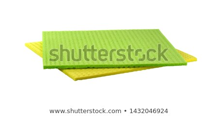 Dish Washing Cleaning Cloths and Sponges  Stock photo © dariazu