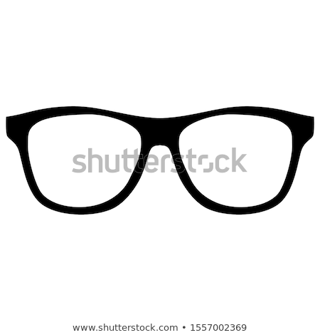 Black Framed Glasses Stock photo © timurock