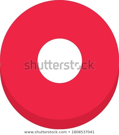 Caméra vecteur web élément circulaire bouton Photo stock © rizwanali3d
