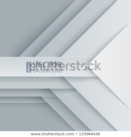 gray abstract business stationery items set Stock photo © SArts