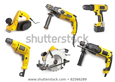 Electric tools set Stock photo © biv