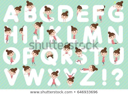 Balé cabelo avental mamãe conjunto Foto stock © toyotoyo