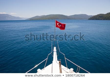 Mediterranean sea in Turkey Stock photo © Givaga