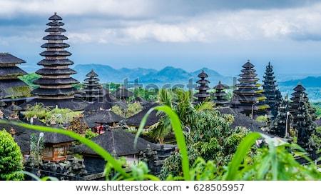 Bali templo complexo Indonésia edifício Ásia Foto stock © prill