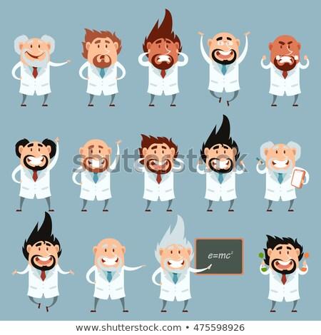 科学 教授 漫画 着用 ラボ ストックフォト © Krisdog