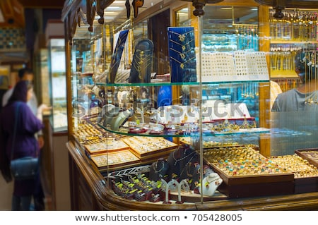 Jewelry at Tehran Grand Bazaar Stock photo © joyr