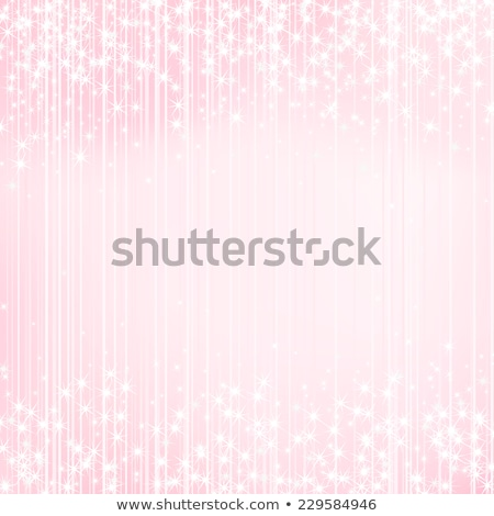 Bright light pink background. Festive design New Year and Christmas, wedding, event style. Stock photo © ESSL