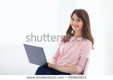 uitvoerende · vergadering · bureau · kantoor · gelukkig - stockfoto © andreypopov