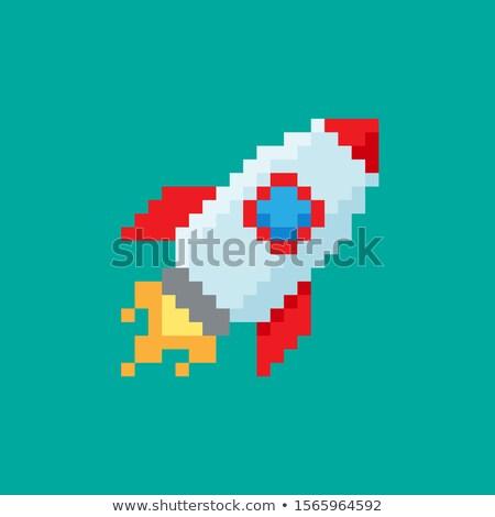 Digital vector pixel art digital technology Stock photo © frimufilms