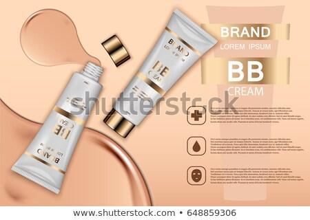 Cosmetici bottiglia prodotto vettore promozione elemento Foto d'archivio © pikepicture