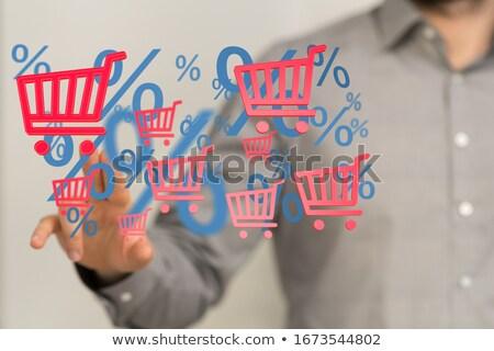 Black friday legjobb vásár ár csökkentés 50 Stock fotó © robuart