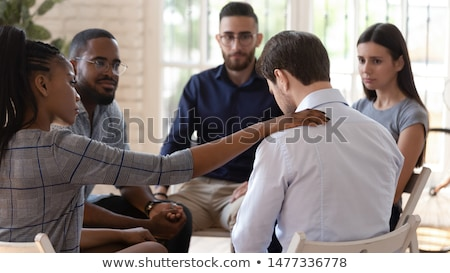 Depression Support Group Stock photo © Lightsource