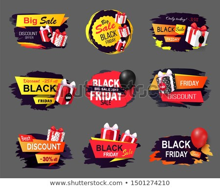 big offer on black friday only today proposition stock photo © robuart