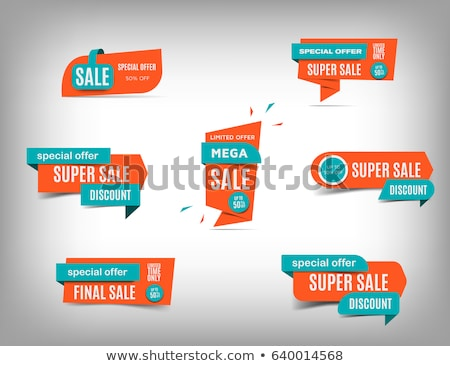Best Price Special Promotion, Web Pages Text Set Stock photo © robuart