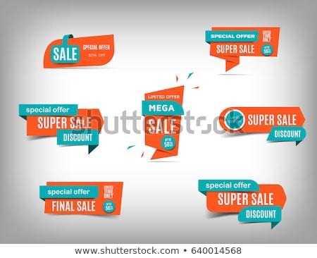 uno · día · fantástico · ofrecer · reducción · precio - foto stock © robuart