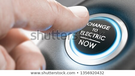 change to electric vehicle now stock photo © olivier_le_moal