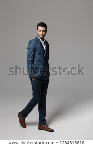 Tam uzunlukta görüntü Arapça adam 30s Stok fotoğraf © deandrobot