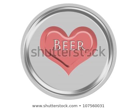 Heart Drink Coaster Stock photo © Anna_leni