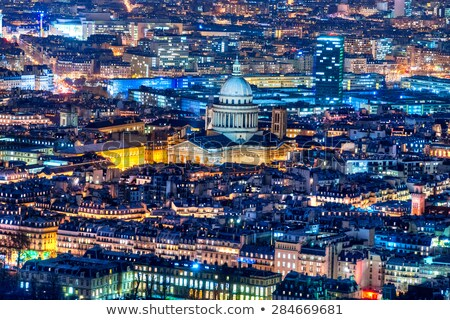 View of the Latin Quarter and Montparnasse Stock photo © artjazz