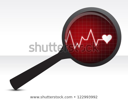 Orvosi állapot normális szívritmus zűrzavar egészséges Stock fotó © Lightsource
