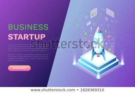 inicio · iconos · vector · negocios · inicio · hasta - foto stock © robuart