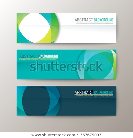 Colorful templates - set of modern abstract horizontal banners Stock photo © Decorwithme