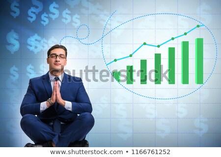 Işadamı ekonomi pazar büyüme Stok fotoğraf © Elnur