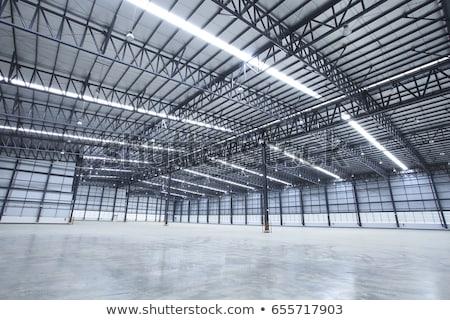 old urban industrial building stock photo © konradbak