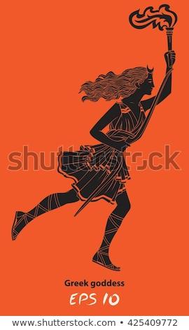 греческий богиня лучник девушки подобно Сток-фото © diomedes66
