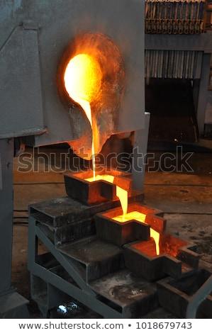 aço · dentro · planta · luz · fundo - foto stock © fouroaks