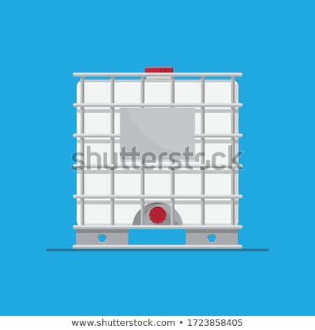 Groot chemische fabriek metaal veiligheid olie Stockfoto © CaptureLight