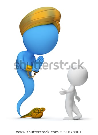 3d small people - jinn Stock photo © AnatolyM