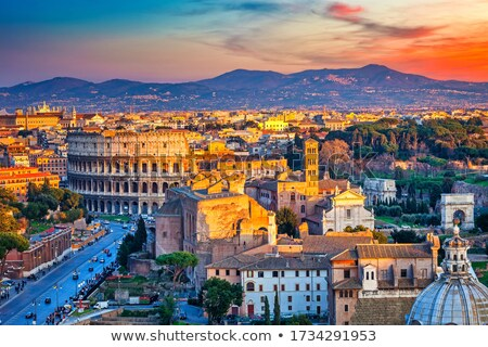 Ver romani belo noite foto Roma Foto stock © Francesco83