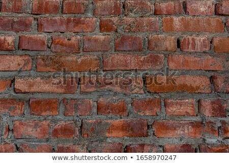 Rustykalny szorstki cięcia czerwony piaskowiec kamień Zdjęcia stock © Qingwa