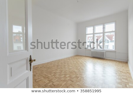 empty newly painted room stock photo © elly_l