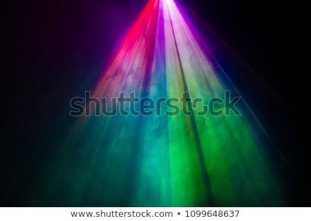 Stockfoto: Magie · regenboog · stralen · effect · mensen