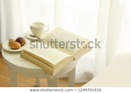 Open book laying on the chair Stock photo © AndreyKr