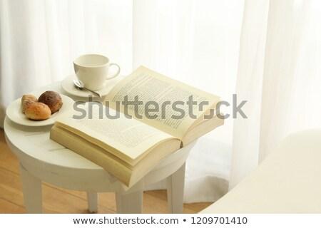 livre · ouvrir · bible · bois · autel - photo stock © andreykr