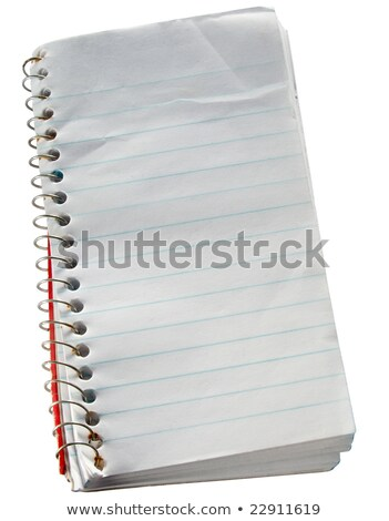 Small scruffy old reporters notepad. Stock photo © latent
