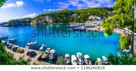 Greek coast Stock photo © ivonnewierink