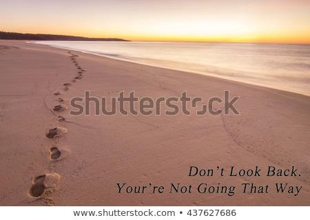 Don't Look Back Stock photo © kbuntu