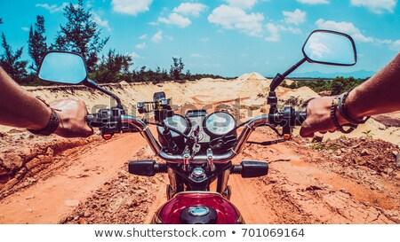 Moto esperienza felice sport bike braccio Foto d'archivio © photography33