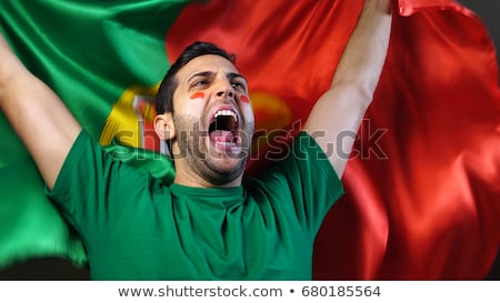 Portugal supporters Stock photo © photography33
