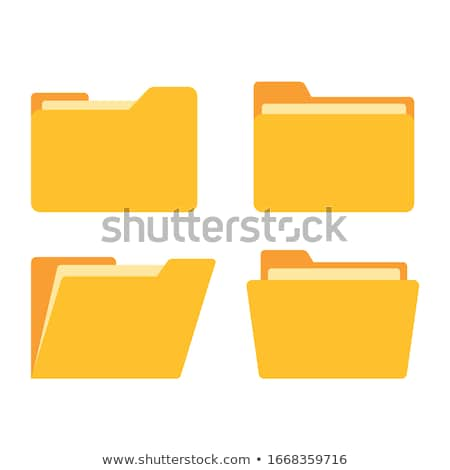 Folder or File Concept Stock photo © edgeofmadness