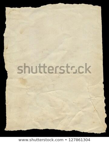 levha · yırtık · kağıt · siyah · kâğıt · soyut · kırık - stok fotoğraf © latent