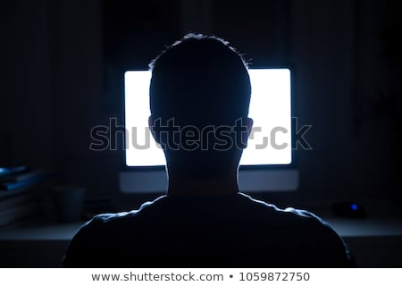 mulher · tecnologia · loiro · coberto · elétrico - foto stock © lightkeeper
