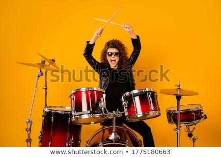 женщины рокер музыку Перейти исполнительного молодые Сток-фото © photography33