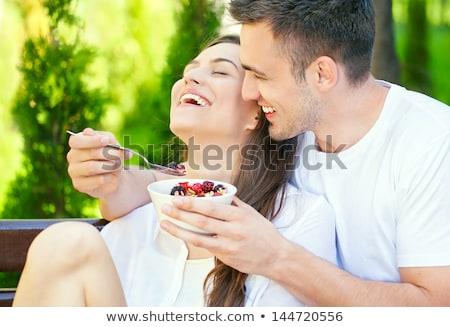 Сток-фото: пару · еды · сухих · завтраков · продовольствие · зерна · зерновых