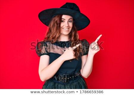 Stock photo: woman in costume